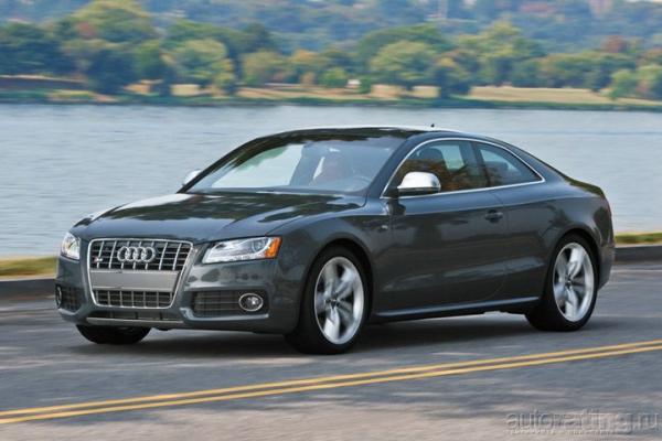 Большая белая / Тест-драйв Audi S5