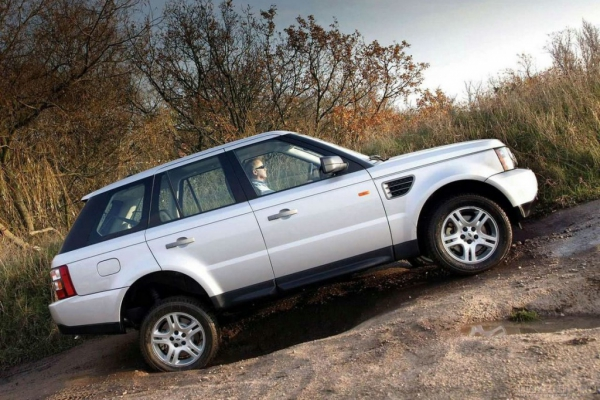 Range Rover Sport / Тест-драйв Land Rover Range Rover Sport
