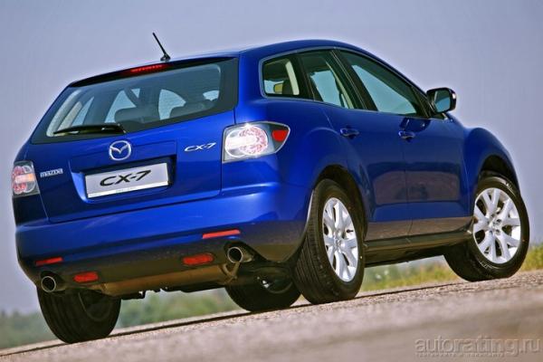 Zoom-zoom на паркете / Тест-драйв Mazda CX-7