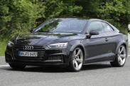 Новый Audi RS5 замечен во время дорожных испытаний