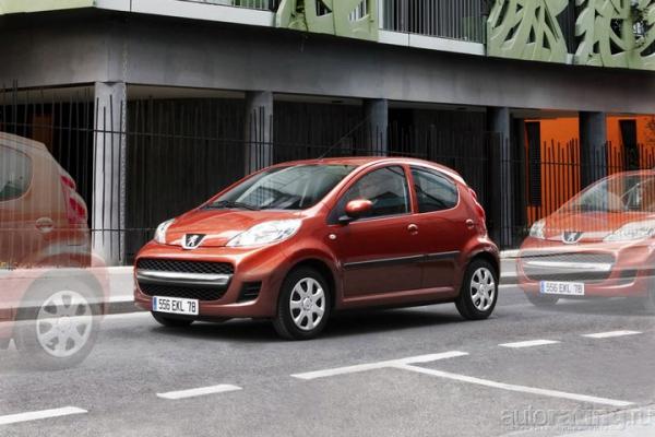 Лягушонка в коробченке / Тест-драйв Peugeot 107