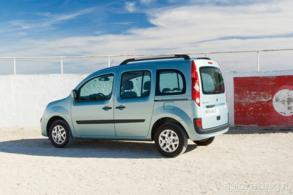 Домашний кенгуру / Тест-драйв Renault Кangoo