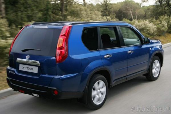 Смена стиля / Тест-драйв Nissan X-Trail