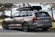 Фотографии нового универсала Volvo V60