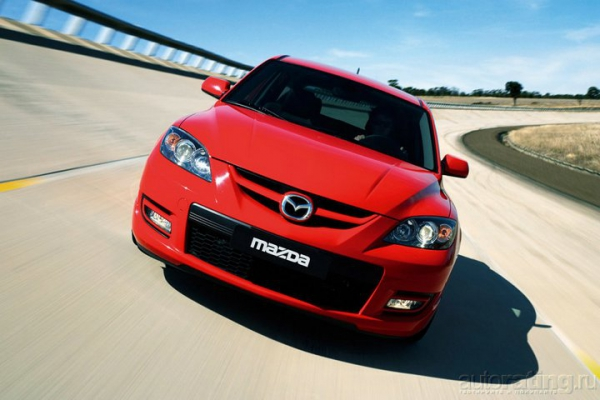Рецепт ее бодрости / Тест-Драйв Mazda 3 MPS