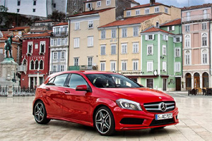 Mercedes-Benz A-Class, Мерседес-Бенц А-Класс