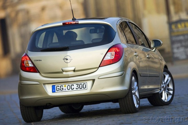 Тест-драйв Opel Corsa OPC