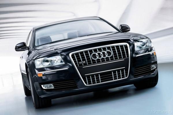 Бронепоезд-экспресс / Тест-драйв Audi A8L