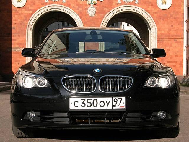 BMW 5 serie / Тест-драйв БМВ 5 серии