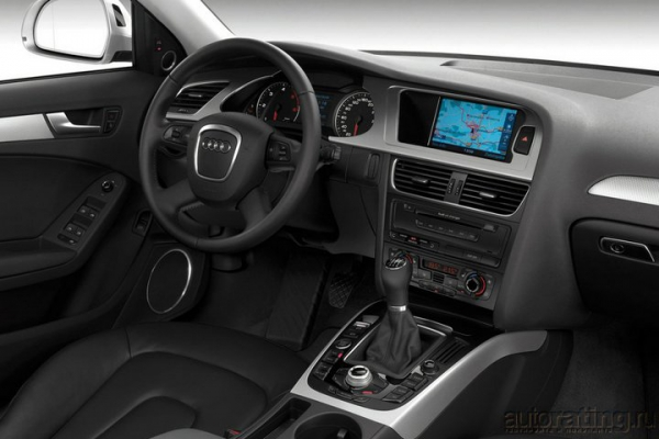 Настрой на победу / Тест-драйв Audi A4