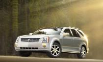 Cadillac SRX: лаковый ботинок Элвиса