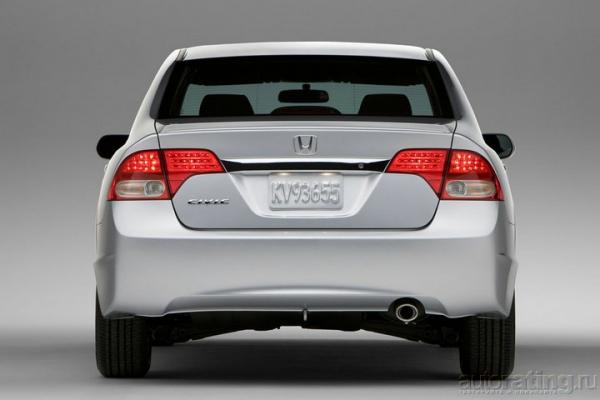 Выход в космос / Тест-драйв Honda Civic