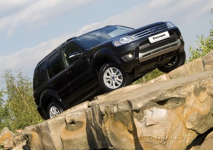 Ford Escape: побег на бездорожье