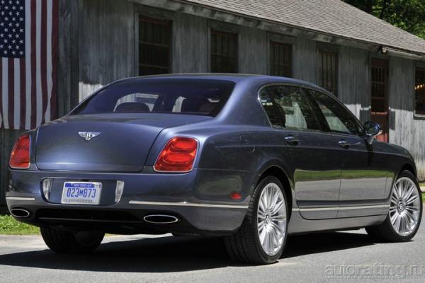 Вопрос к парковщику: Какой из седанов нравится больше? / Тест-драйв Bentley Continental Flying Spur