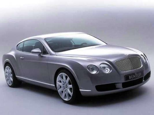 Штирлиц-штрассе / Тест-драйв Bentley Continental GT