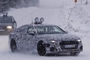 Audi тестирует новое поколение A6