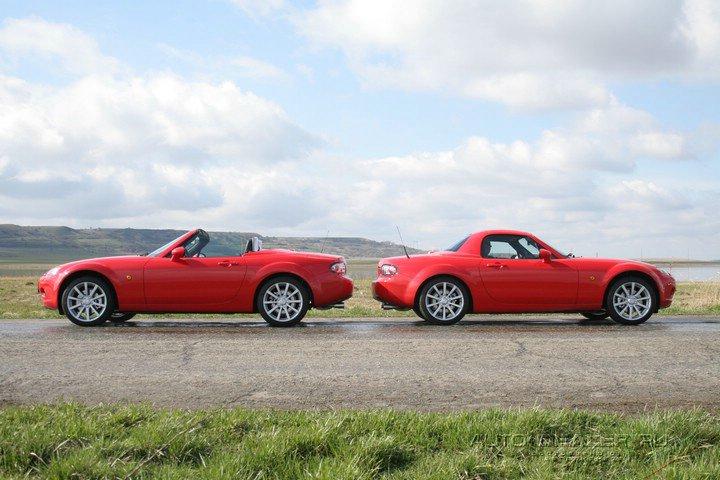 Mazda MX-5: единство всадника и лошади