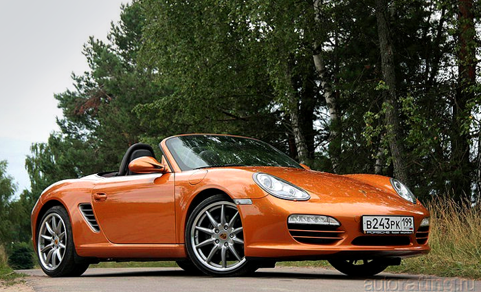 Porsche Boxster: секунда на раздумье