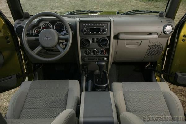 Кубик Рубика / Тест-драйв Jeep Wrangler