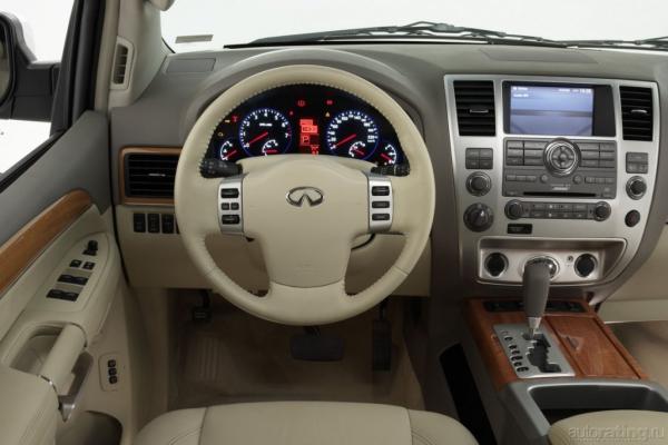Тяжеловесы / Тест-драйв Cadillac Escalade и Infiniti QX56