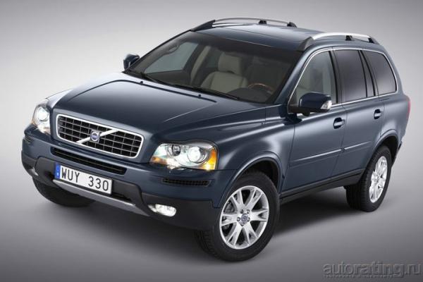 М7. Volvo. Дизель. / Тест-драйв Volvo XC90