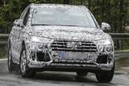 Новый Audi Q5 замечен во время тестов