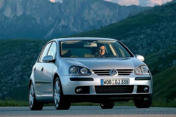 Лихой Volkswagen Golf V GTI