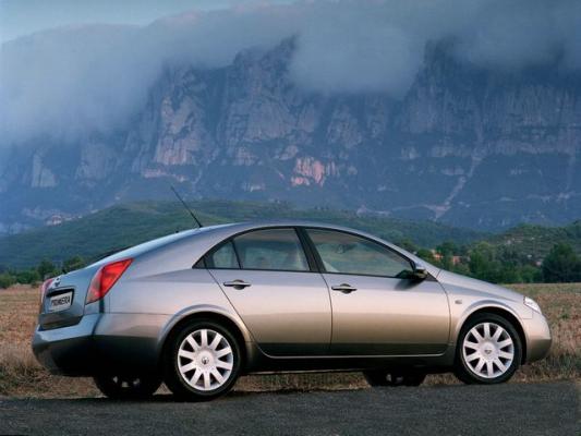 Гостья из будущего / Тест-драйв Nissan Primera