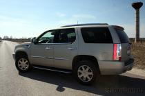Cadillac Escalade: две с половиной тонны уважения