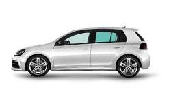 Volkswagen-Golf R-2010