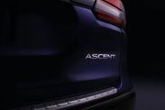Subaru показала семиместный салон модели Ascent