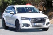 Audi Q8 замечен во время испытаний