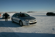 Citroen C5 Snow Motion: электроника против физики