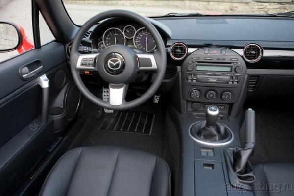 Открывалка и минералка / Тест-драйв Mazda MX-5