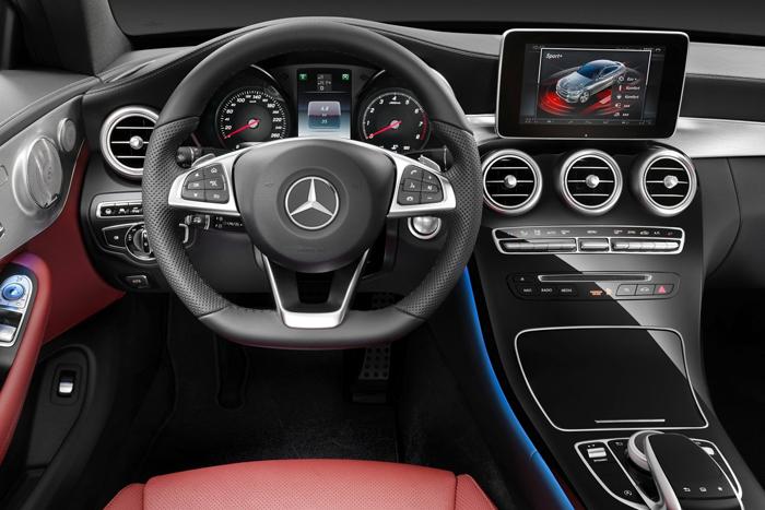 Mercedes-Benz представил новый C-class купе