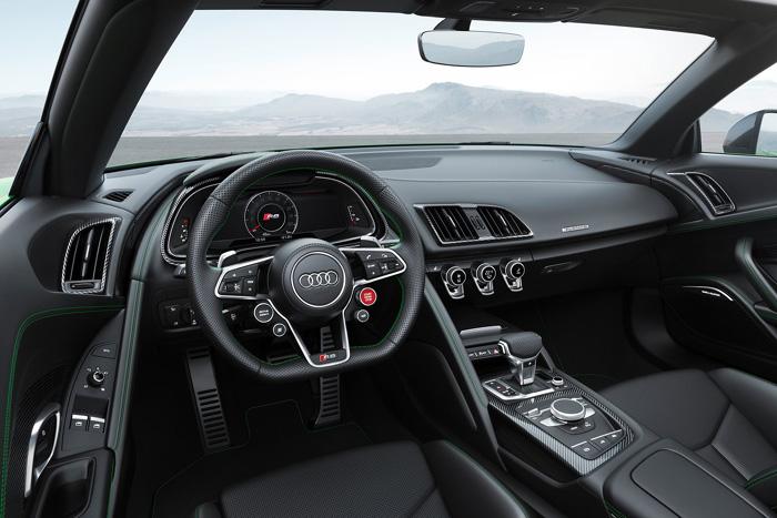 Audi R8 V10 Spyder появился вварианте Plus