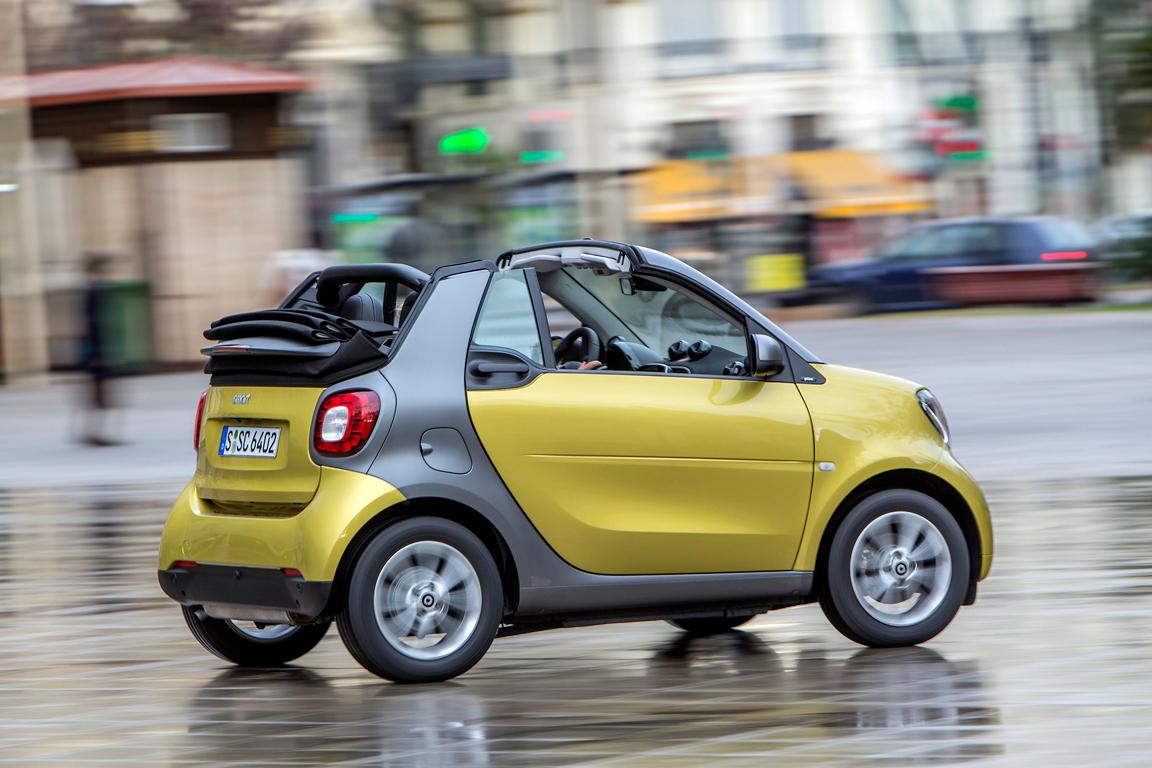 smart fortwo cabrio 2016