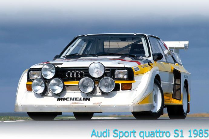 Audi Sport quattro S1 1985