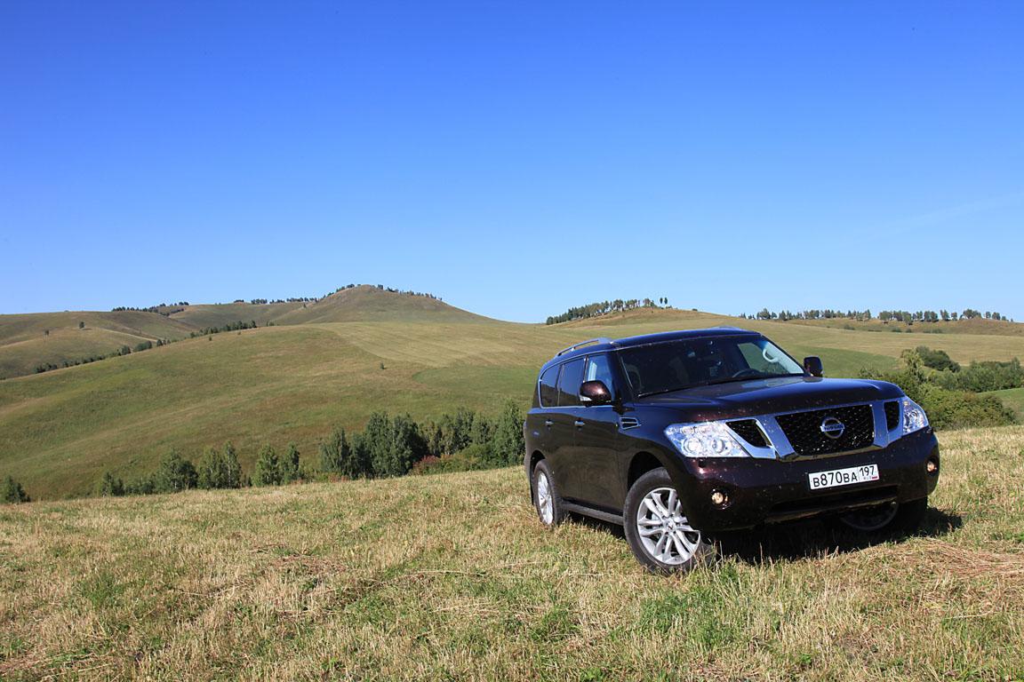 Nissan Patrol: Любимый самурай России