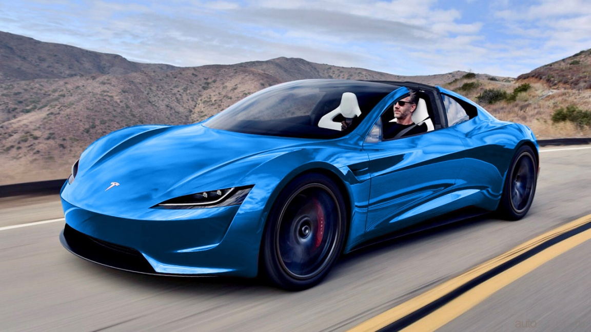 Илон Маск анонсировал Tesla Roadster SpaceX