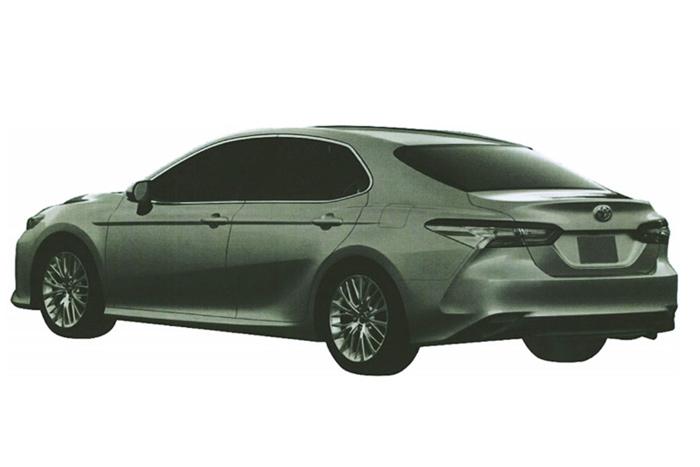 Рассекречена новая Тойота Camry для РФ