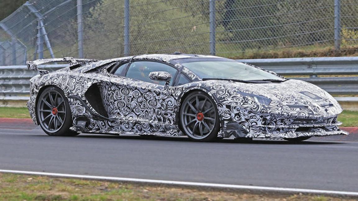 Lamborghini Aventador Superveloce Jota