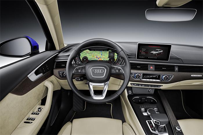 Новый Audi A4 2015