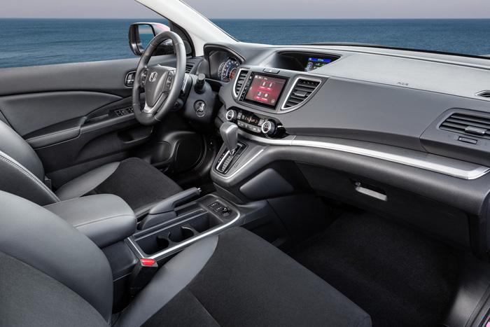 обновленный Honda CR-V