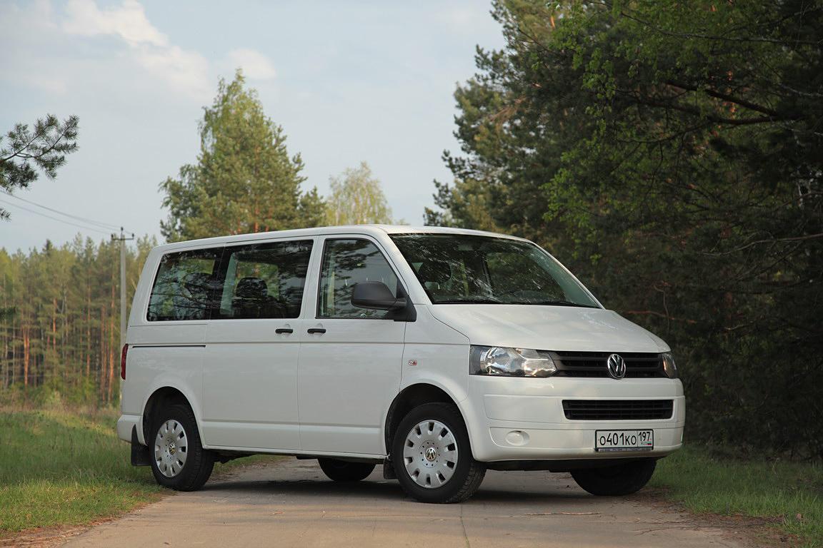Volkswagen Caravelle: 1150 км на одном баке