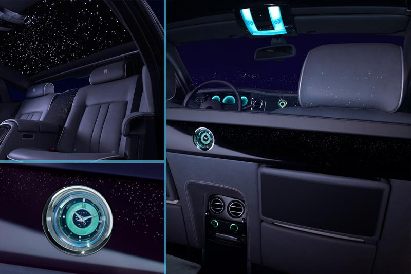 Интерьер Rolls-Royce Celestial Phantom
