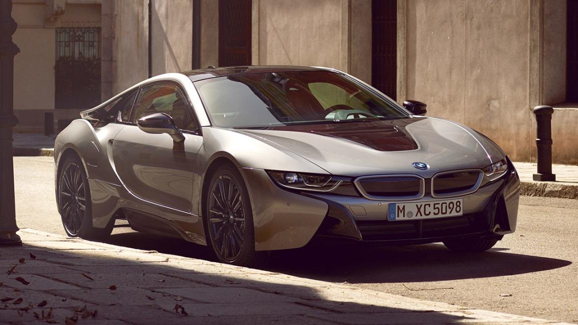 BMW i8 coupe 2018