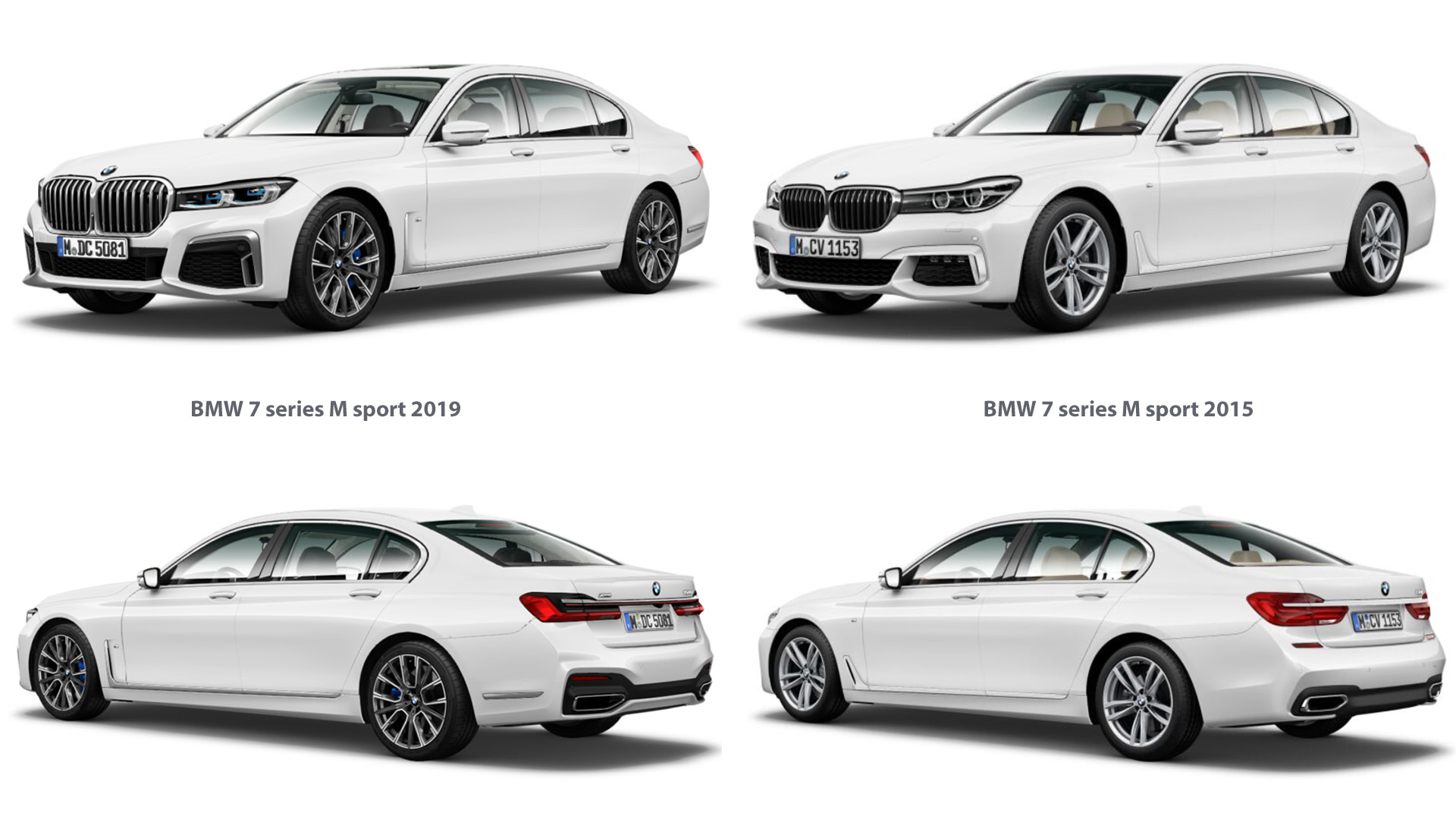 BMW 7 series M sport 2019