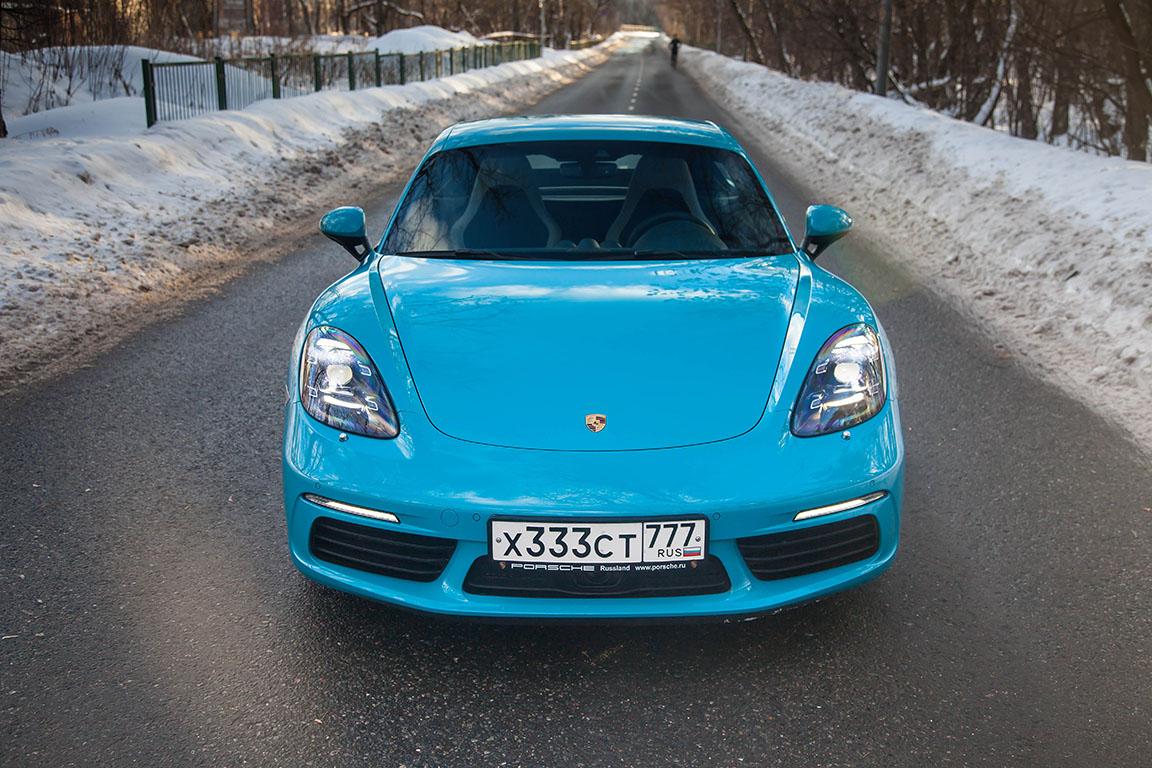 Porsche Cayman S 2017