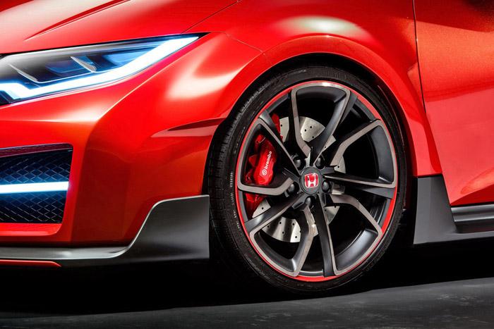 Заряженный Honda Civic Type-R появится в 2015 году